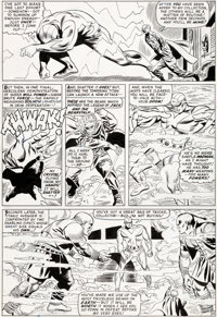 Don Heck and Frank Giacoia Avengers #28 Goliath Original Art (Marvel, 1966)