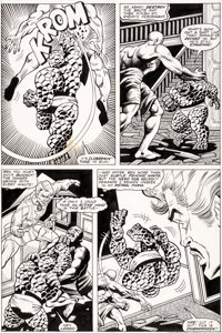 Alan Kupperberg and Gene Day Marvel Two-in-One #49 Story Page 11 Original Art (Marvel, 1979)