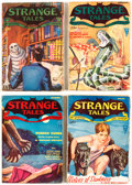 Pulps:Horror, Strange Tales Complete Run Group (Clayton, 1931-33) Condition: Average VG.... (Total: 7 Items)