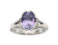 Estate Jewelry:Rings, Sapphire, Platinum Ring, MaeVona . ...