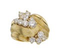 Estate Jewelry:Rings, Diamond, Gold Ring, Henry Dunay. ...