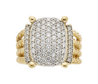 Diamond, Gold Ring, David Yurman