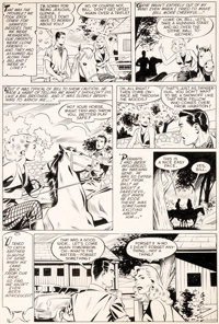Matt Baker and Ray Osrin Teen-Age Romances #17 Story Page 2 Original Art (St. John, 1951)