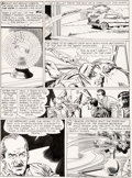 Original Comic Art:Panel Pages, Gil Kane and Murphy Anderson Showcase #35 The Atom Story Page 24 Original Art (DC, 1961)....