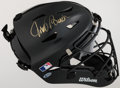 Autographs:Bats, Johnny Bench Signed Catcher's Mask. Offered here i...