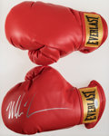 Autographs:Others, Mike Tyson Signed Boxing Glove....