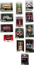 Music Memorabilia:Memorabilia, The Beatles Collection of Christmas Ornaments (13) (circa 2010s). . ...