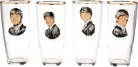 The Beatles Set of Glasses (4) (Holland, 1964). ... (Total: 4 Items)