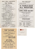 Music Memorabilia:Memorabilia, The Beatles/The Cavern Collection of Memorabilia (12) (circa early 1960s). . ...