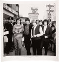 """Music Memorabilia:Photos, The Rolling Stones """"Stones Bite The Big Apple, 1964"""" Limited Edition Print Signed and Numbered By Photographer George Pierce. ..."""