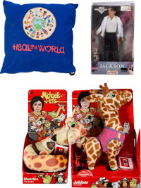 Michael Jackson Group of Toys (1980s-1990s)