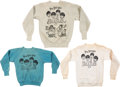 Music Memorabilia:Memorabilia, The Beatles Cotton Pull Over Shirts (3) (circa 1960s).. ... (Total: 3 Items)