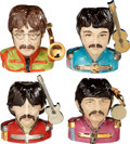 Music Memorabilia:Memorabilia, The Beatles Sgt. Pepper Set of Four Pop Legend Character Jugs in Boxes (4) (UK). ... (Total: 4 Items)
