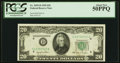 Fr. 2059-D $20 1950 Federal Reserve Note. PCGS About New 50PPQ