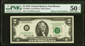 Small Size:Federal Reserve Notes, Binary Serial Number 11110101 Fr. 1935-A $2 1976 Federal Reserve Note. PMG About Uncirculated 50 EPQ.. ...