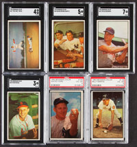 1953 Bowman Color Baseball Near Set (159/160)