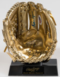 Autographs:Bats, Nolan Ryan Signed Mini Gold Glove Offered here is ...