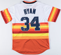 """Nolan Ryan """"Don't Mess with Texas!"""" Signed Houston Astros Jersey"""