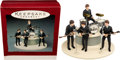Music Memorabilia:Memorabilia, The Beatles Hallmark Keepsake Ornaments In Box (1994). ...