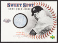 Baseball Cards:Singles (1970-Now), 2001 Upper Deck Sweet Spot Mickey Mantle Game Used Relic Jersey Card....