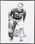 Football Collectibles:Photos, Bruiser Kinard Signed Photograph....