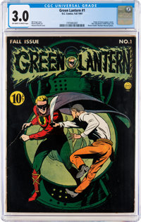 Green Lantern #1 (DC, 1941) CGC GD/VG 3.0 Off-white to white pages