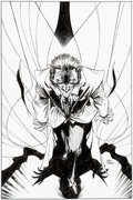 Original Comic Art:Covers, Andy Kubert Joker's Asylum: Joker #1 Cover Original Art (DC, 2008)....