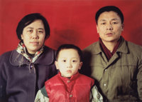 Wang Jinsong (Chinese, b. 1963) Untitled and Untitled from the series Standard Family