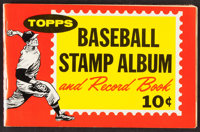 1962 Topps Stamps Collection (113) With Album