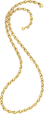 Gold Necklace, Chanel, French