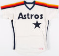 Baseball Collectibles:Uniforms, 1987 Davey Lopes Game Worn Houston Astros Jersey. ...