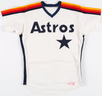 1987 Davey Lopes Game Worn Houston Astros Jersey