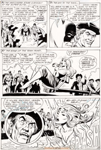 Ross Andru and Mike Esposito World's Finest Comics #186 Story Page 8 Original Art (DC, 1969)