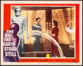 """Movie Posters:Science Fiction, The Day the Earth Stood Still (20th Century Fox, 1951). Very Fine-. Lobby Card (11"""" X 14""""). Science Fiction.. ..."""