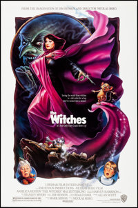 "The Witches (Warner Bros., 1990). Rolled, Very Fine+. One Sheet (27"" X 41"") SS, Greg Winters Artwork. Fantasy..."