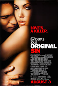 "Original Sin & Other Lot (MGM, 2001). Rolled, Very Fine-. One Sheets (4) (26.75"" X 39.75"" - 27"" X 41&..."