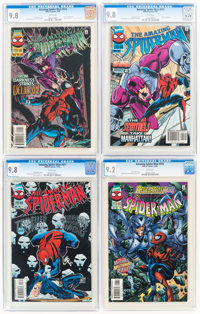 The Amazing Spider-Man CGC-Graded Group of 5 (Marvel, 1996-97) CGC NM/MT 9.8.... (Total: 5 Items)