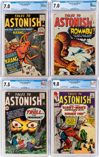 Tales to Astonish CGC-Graded Group of 4 (Marvel, 1960-64).... (Total: 4 Comic Books)