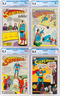 Superman CGC-Graded Group of 5 (DC, 1961-66).... (Total: 5 Comic Books)