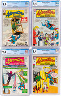 Silver Age (1956-1969):Superhero, Adventure Comics CGC-Graded Group of 6 (DC, 1962-67).... (Total: 6 Comic Books)