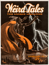 Weird Tales - February 1924 (Popular Fiction) Condition: FN/VF