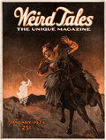 Pulps:Horror, Weird Tales - January 1924 (Popular Fiction) Condition: VG+....