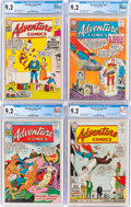 Silver Age (1956-1969):Superhero, Adventure Comics CGC-Graded Group of 8 (DC, 1961-67) CGC NM- 9.2.... (Total: 8 Comic Books)
