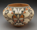American Indian Art:Pottery, An Acoma Polychrome Jar...
