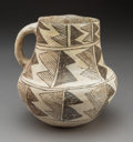 American Indian Art:Pottery, A Chaco Black-on-White Pitcher ... (Total: 0 )