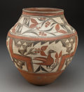 American Indian Art:Pottery, A Zia Polychrome Jar...