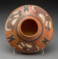 American Indian Art:Pottery, A Hopi Polychrome Seed Jar ...