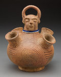 American Indian Art:Pottery, A Mohave Figural Jar...