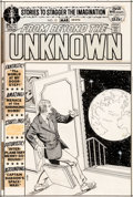 Original Comic Art:Covers, Murphy Anderson From Beyond the Unknown #15 Cover Original Art (DC, 1972)....