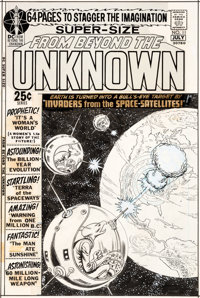 Murphy Anderson From Beyond the Unknown #11 Cover Original Art (DC, 1971)
